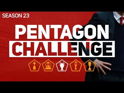 PENTAGON CHALLENGE - FOOTBALL MANAGER 2020 #23