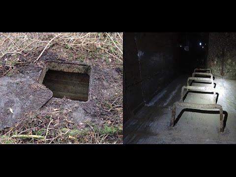 Podzemný bunker ukrytý v horách