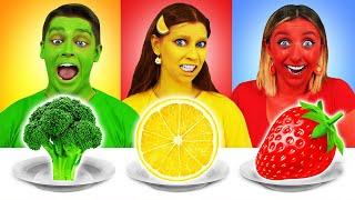 Thử thách thực phẩm màu Multi DO Challenge