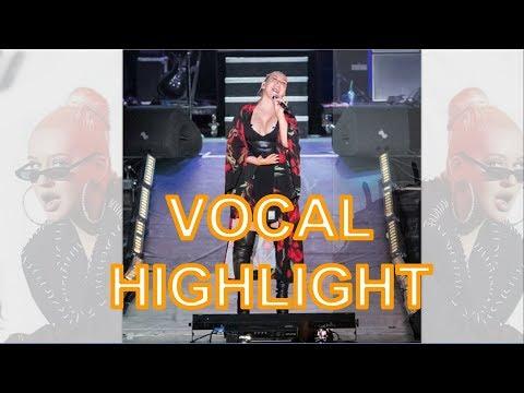 Christina Aguilera Vocal Highlight Eb3-E5-B5(Curaçao North Sea Jazz Festival 2018)
