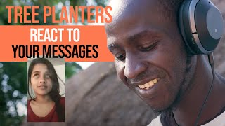 Reacting To User Messages | Tree Planters Meet Ecosia Users