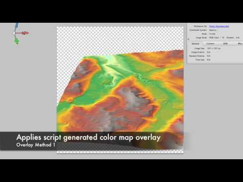 3D Terrain Model using Geographic Imager