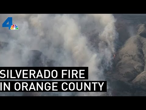 Silverado Fire Forces Evacuations in Orange County Area | NBCLA