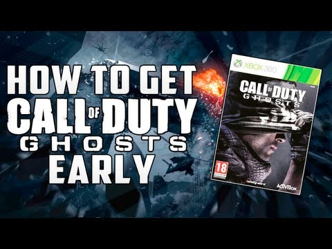"""How To Get Call Of Duty Ghosts Early"" - COD Ghosts Before Release Date - Smashpipe Games"
