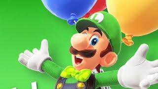 Super Mario Odyssey Luigi's Balloon World Update + New Outifts!