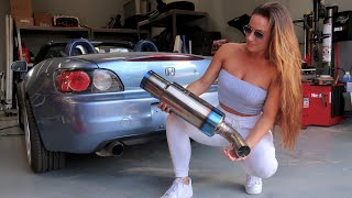 LOUDEST EXHAUST EVER - HONDA S2000
