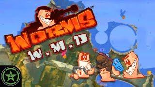 Let's Play - Worms W.M.D. - Dubstep Guns #4 - AH Live Stream