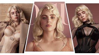 Billie Eilish Stuns in LINGERIE on British Vogue Cover