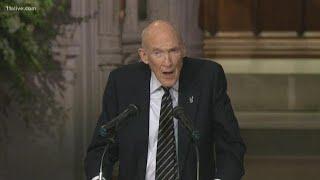 Alan Simpson's eulogy to his 'dear friend' President George H.W. Bush