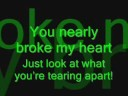 The All-American Rejects - Stab My Back (With lyrics)