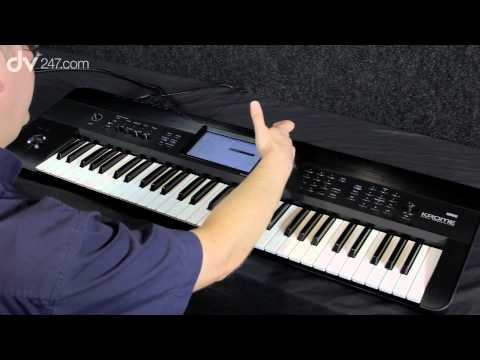 Korg Krome Workstation Synthesizer Demonstration