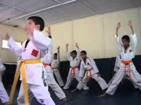نادي التيكواندو بمدرسة الحسن الاول