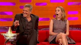 George Clooney May Get Arrested For Prank On Brad Pitt - The Graham Norton Show