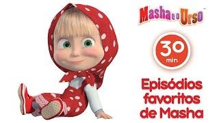 Masha e o Urso- Episódios favoritos de Masha ❤️ Melhor compilação de desenhos animados para filhos