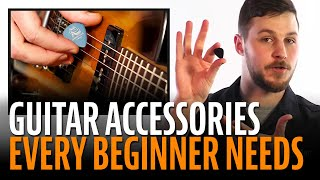 Watch the Trade Secrets Video, Guitar Accessories Every Beginner Needs