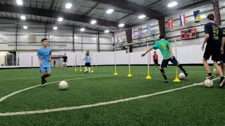 Soccer Drills for 10 Year Olds - Training Session for Players and Coaches Episode 17