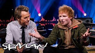 Taylor Swift or Elton John? Ed Sheeran answers dilemmas | SVT/TV 2/Skavlan