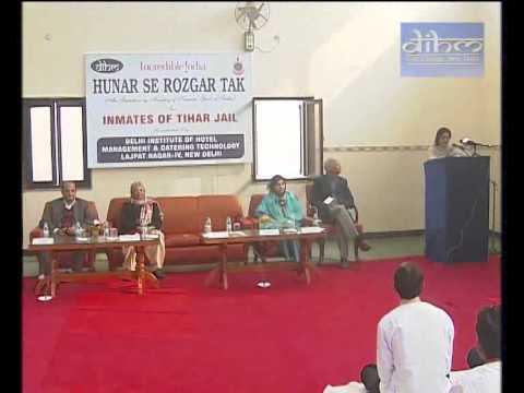 Hunar Se Rozgar Tak - Tihar Central Jail, Delhi and DIHM