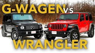 Mercedes G-Class vs Jeep Wrangler: Which One is the Better Off-Roader?
