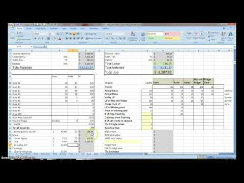 #11 Estimating with Excel for the Small Contractor
