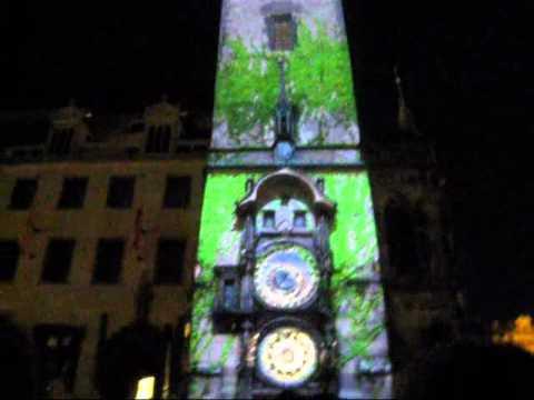 Video mapping Staroměstského Orloje