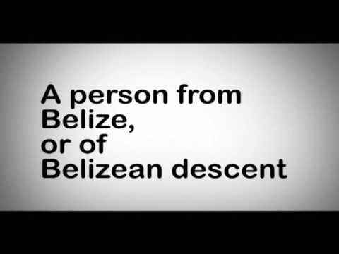 Define your Belizean Pride.