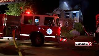 Four escape overnight house fire in Florence