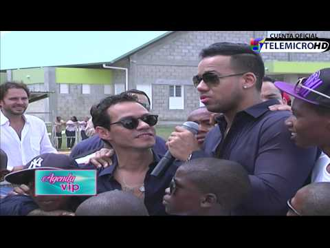 Entrevista a Marc Anthony, Manolo Cardona, Romeo Santos Agenda VIP