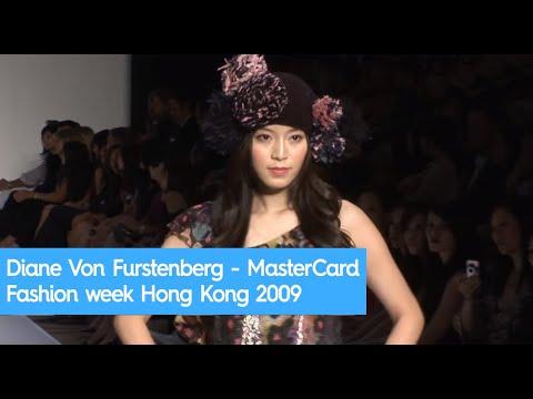 Diane Von Furstenberg - MasterCard Fashion week Hong Kong 2009