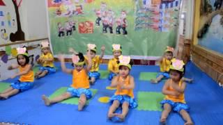 múa Con heo đất - MN Lá Xanh - 4 tuổi
