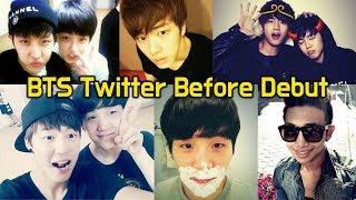 방탄소년단 데뷔 전 트위터 모음 (눈물주의) BTS Twitter Before Debut (When they were trainees)