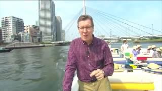 Jornal Hoje - Um passeio por Tóquio e a vista das águas limpas dos rios e canais