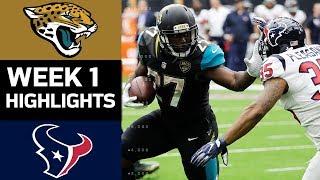 Jaguars vs. Texans | NFL Week 1 Game Highlights