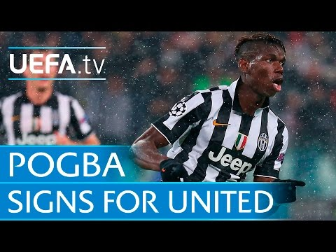 Pogba goal for Juventus: New Man United signing