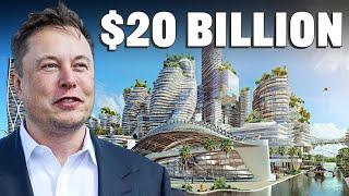 Elon Musk's $20B Futuristic City! (Starbase)