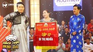 """Thách thức danh hài 3   tập 12: hai mẹ con người Khmer khiến giám khảo """"phát cuồng"""""""