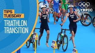 How to Transition to the Bike in Triathlon ft. Nicola Spirig | Olympians' Tips