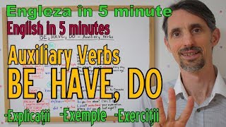 Lectii Gramatica Engleza - AUXILIARY VERBS BE, HAVE, DO - English Grammar Lessons