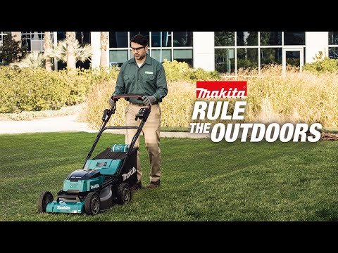 Makita Rule the Outdoors - LXT Cordless Lawn Mower and Blower