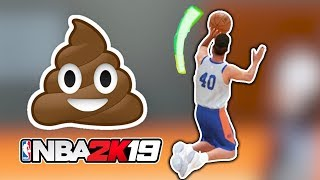 UGLIEST Jumpshot Possible! NBA 2K19