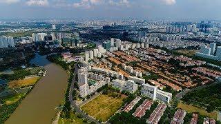 Toàn cảnh Quận 7 TP. Hồ Chí Minh - Panorama District 7 Ho Chi Minh City, Vietnam