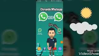 """"""" Clonando o Whatsapp em 3... 2... 1...! ( Deixe seu Like ) ☆☆☆"""