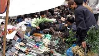 Chợ Viềng Nam Định - Tết 2010