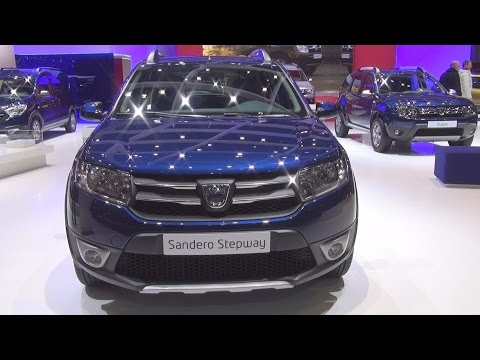 Dacia Sandero Stepway TCe 90 Start&Stop Easy-R (2016) Exterior and Interior in 3D
