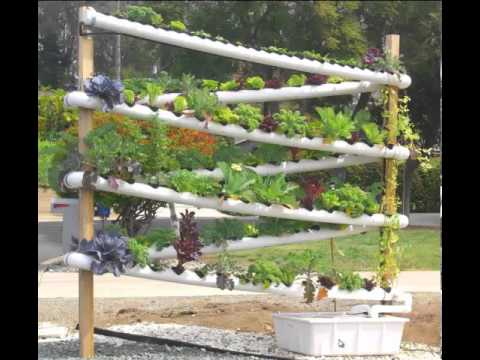 DIY Hydroponic Garden Tower - The ULTIMATE hydroponic ...