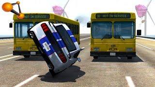 BeamNG.drive - Impossible Car Stunts #4