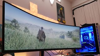 This Samsung 49 inch super ultra wide monitor is amazeballs | Samsung CRG9 review