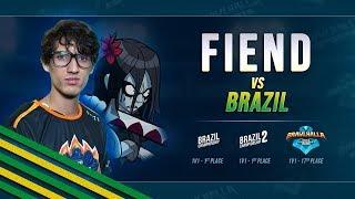 Fiend vs Brazil - Brawlhalla Dev Stream Highlight