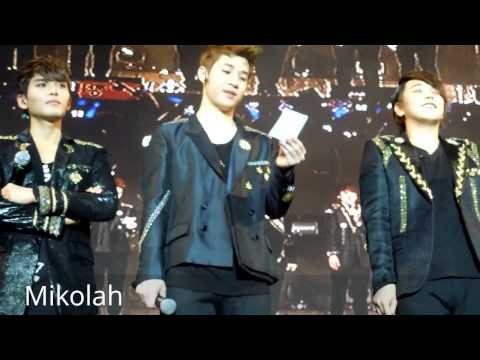 [Fancam] Asian Super Showcase Super Junior answering questions
