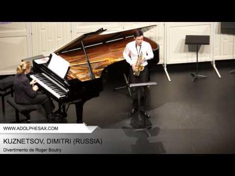 Dinant 2014 - Kuznetsov, Dimitri - Divertimento by Roger Boutry